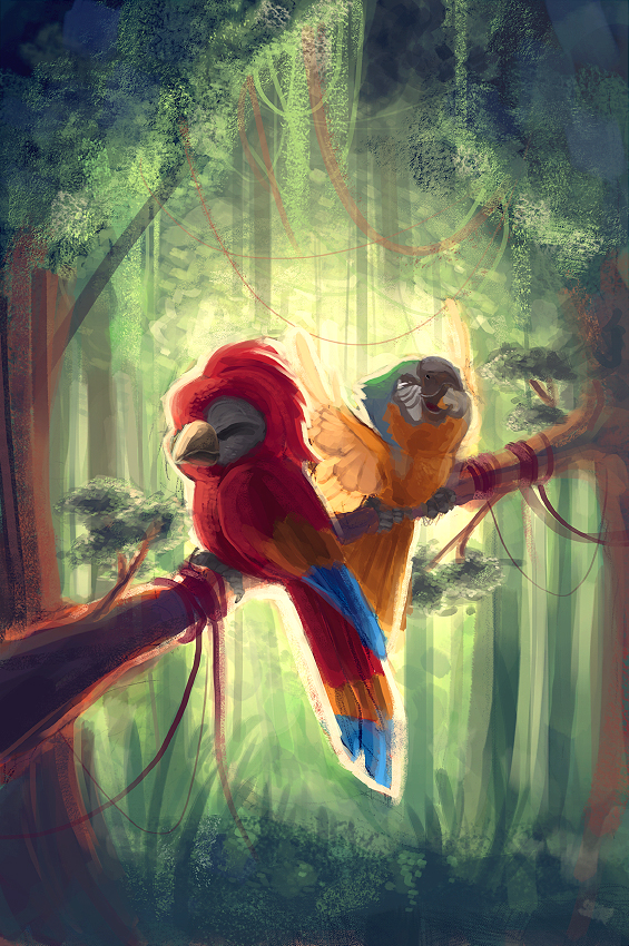 Rainforest Buddies by Sicarina