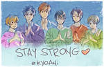 Stay strong KyoAni by Buruzaitama