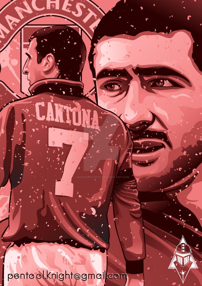 Eric Cantona By ArievSoeharto