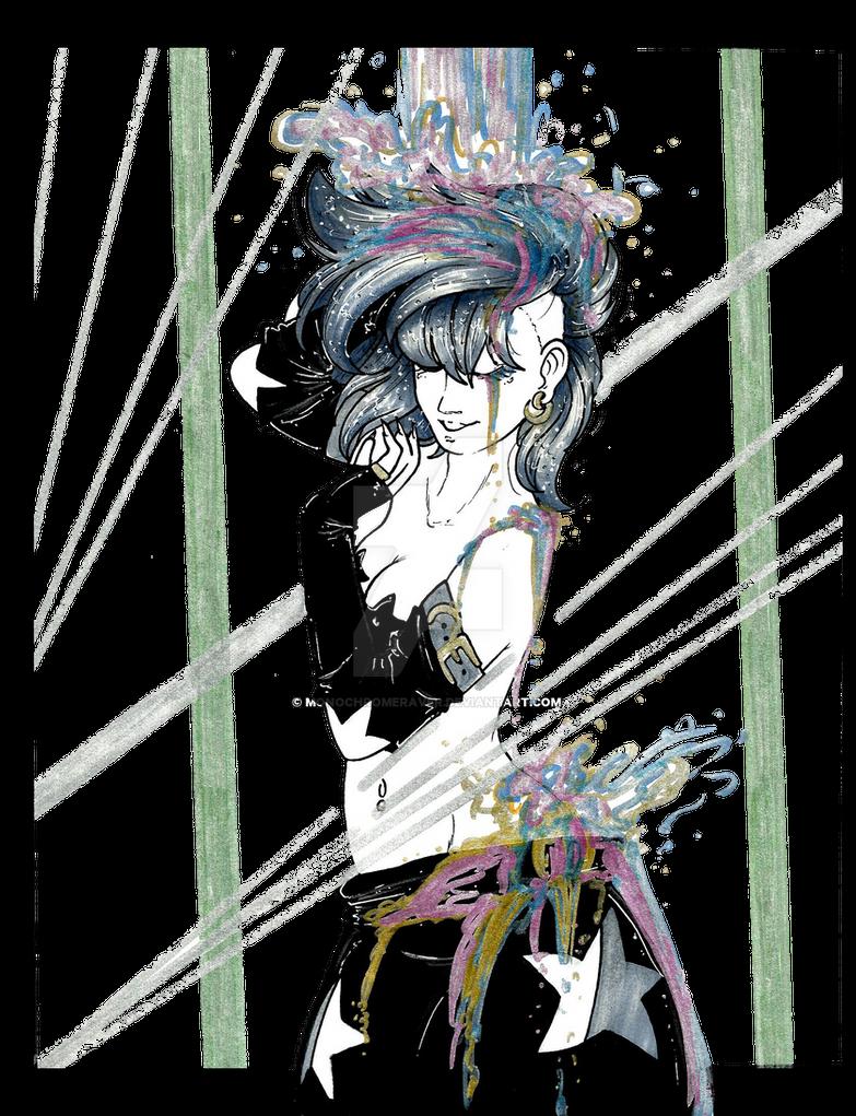 Raver's Fantasy by MonochromeRaver