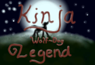 Kinja Wolf Dog Legend Title by Unbound151