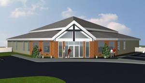Church DesignFront Perspective