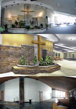 Church Feature Wall