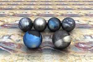 Hematite Spheres