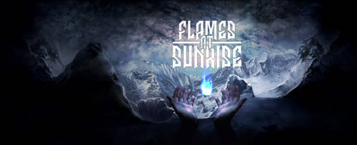 Cover Disc  -Flames at Sunrise - Born in embers
