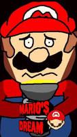 Mario's Dream   Mario Wallpaper