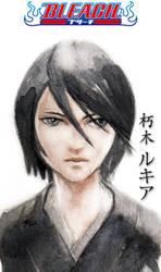 Kuchiki Rukia by airasan