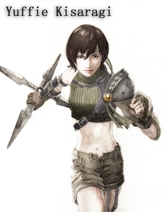 Yuffie Kisaragi by airasan