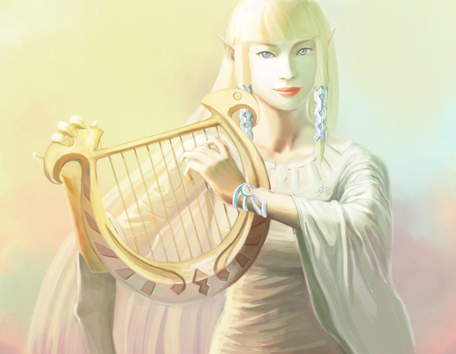 Zelda Skyword by airasan