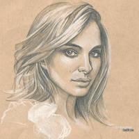 Natalie Portman 2 #Sketchbook by dankershaw