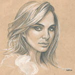 Natalie Portman 2 #Sketchbook