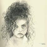 Bellatrix | Helena Bonham Carter #Sketchbook