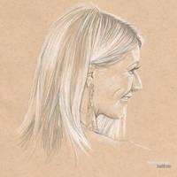 Gwyneth Paltrow #Sketchbook by dankershaw