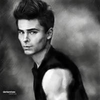 Zac Efron by dankershaw