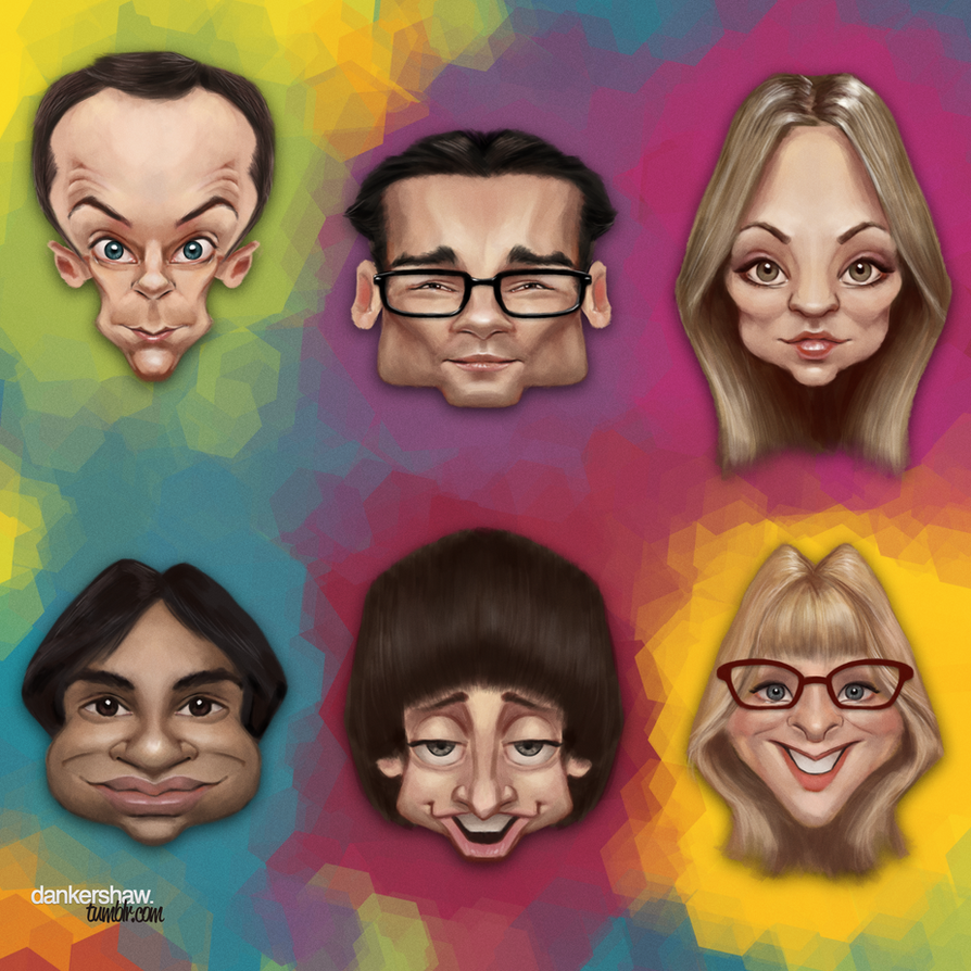 The Big Bang Theory by dankershaw