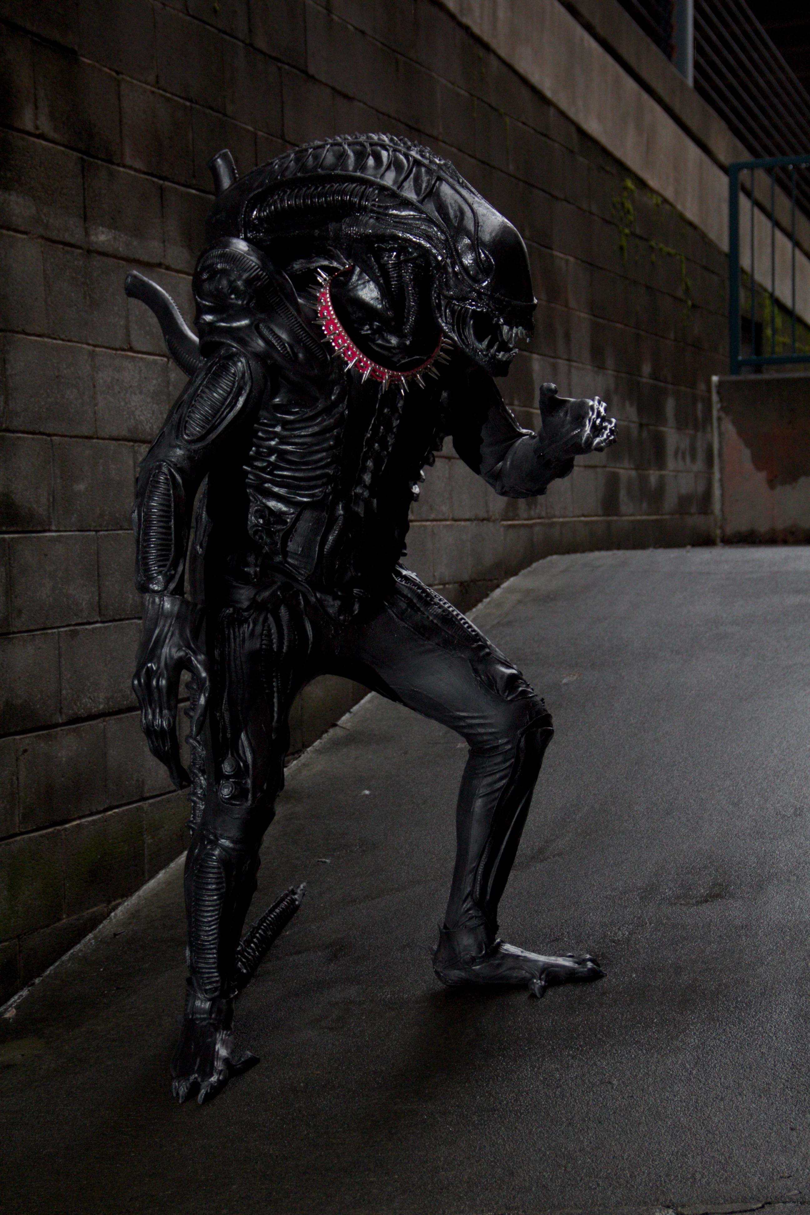 Xenomorph Dog Costume Aliens: Colonial Marin...