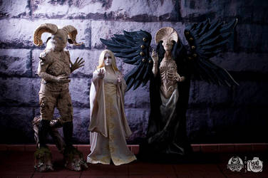 Fauno and Angel of Death: del Toro/Doug Jones