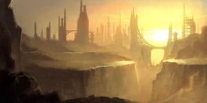 cityscape by ajsdo222
