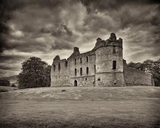 Balvinie Castle by hwbuerks