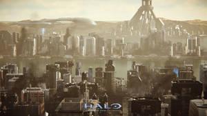 Halo 2 : Anniversary - Metropolis by HaloMika