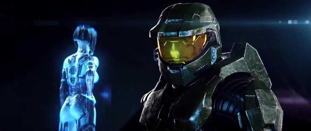 John And Cortana Halo 2 Anniversary By Halomika On