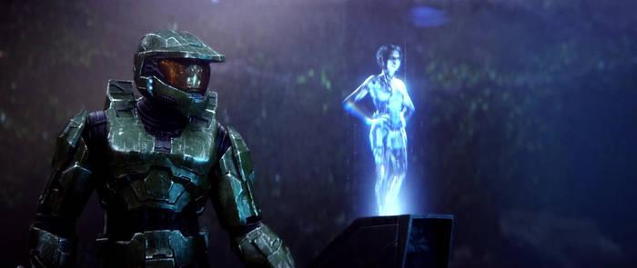 John And Cortana By Halomika On Deviantart