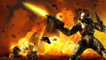 Halo 2 Anniversary By Halomika On Deviantart