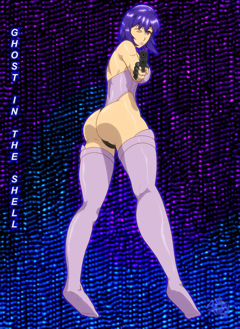 Major Motoko by REFLEX76