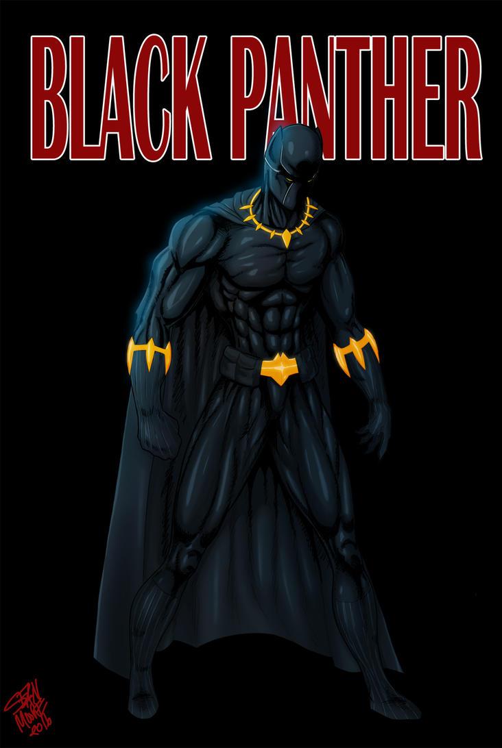 Black Panther by REFLEX76