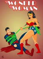 Wonder Woman vs Superman by REFLEX76