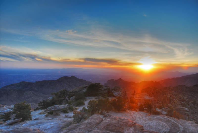 HDR Tucson Sunset by simple-squamous
