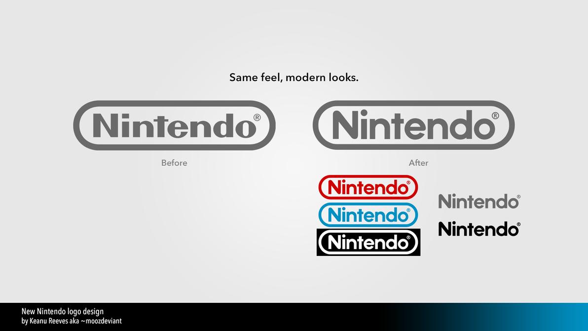 New Nintendo logo design by moozdeviant on DeviantArt
