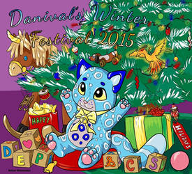 Furcadia - Danival's Winter Festival 2015 entry! by ReigneWolvenshire