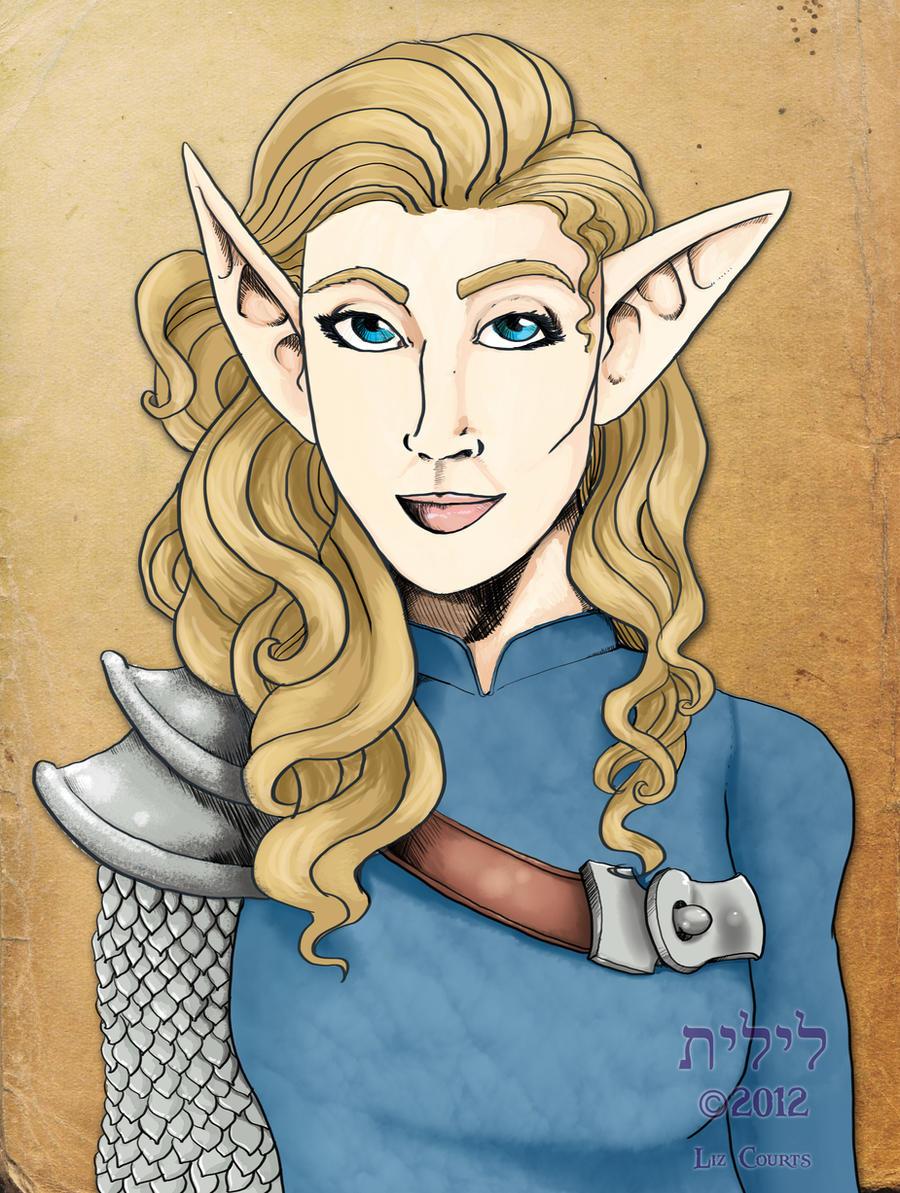 121128-Elf Maid by lilith-darkmoon