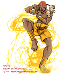 Super Duper Street Fighter Collab - Dhalsim