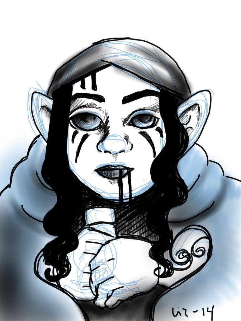 141010 Daily Sketch by lilith-darkmoon