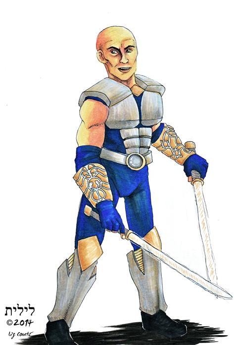 Star Wars Commission: Human Warrior by lilith-darkmoon