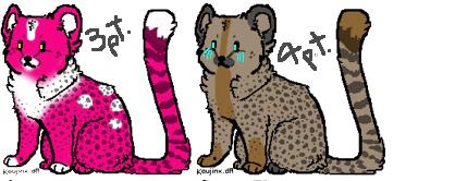 Cheetah adoptable OPEN by DarkGhost97