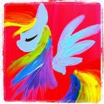 Rainbow Dash Paint
