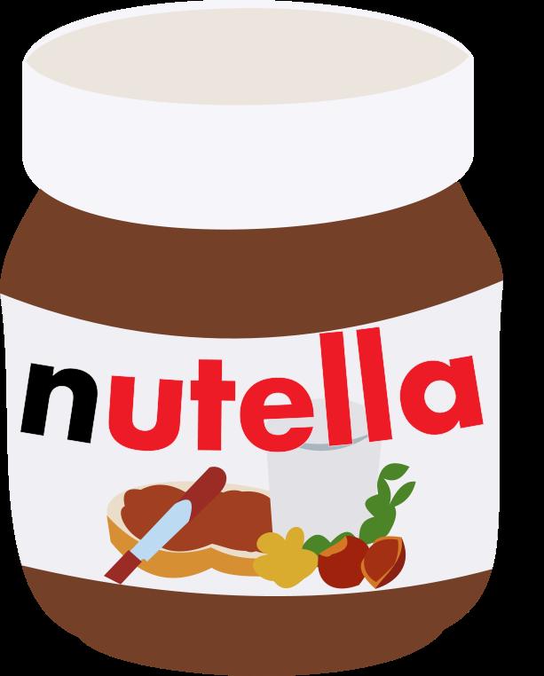 Nutella Vector by anonymousnekodos on DeviantArt
