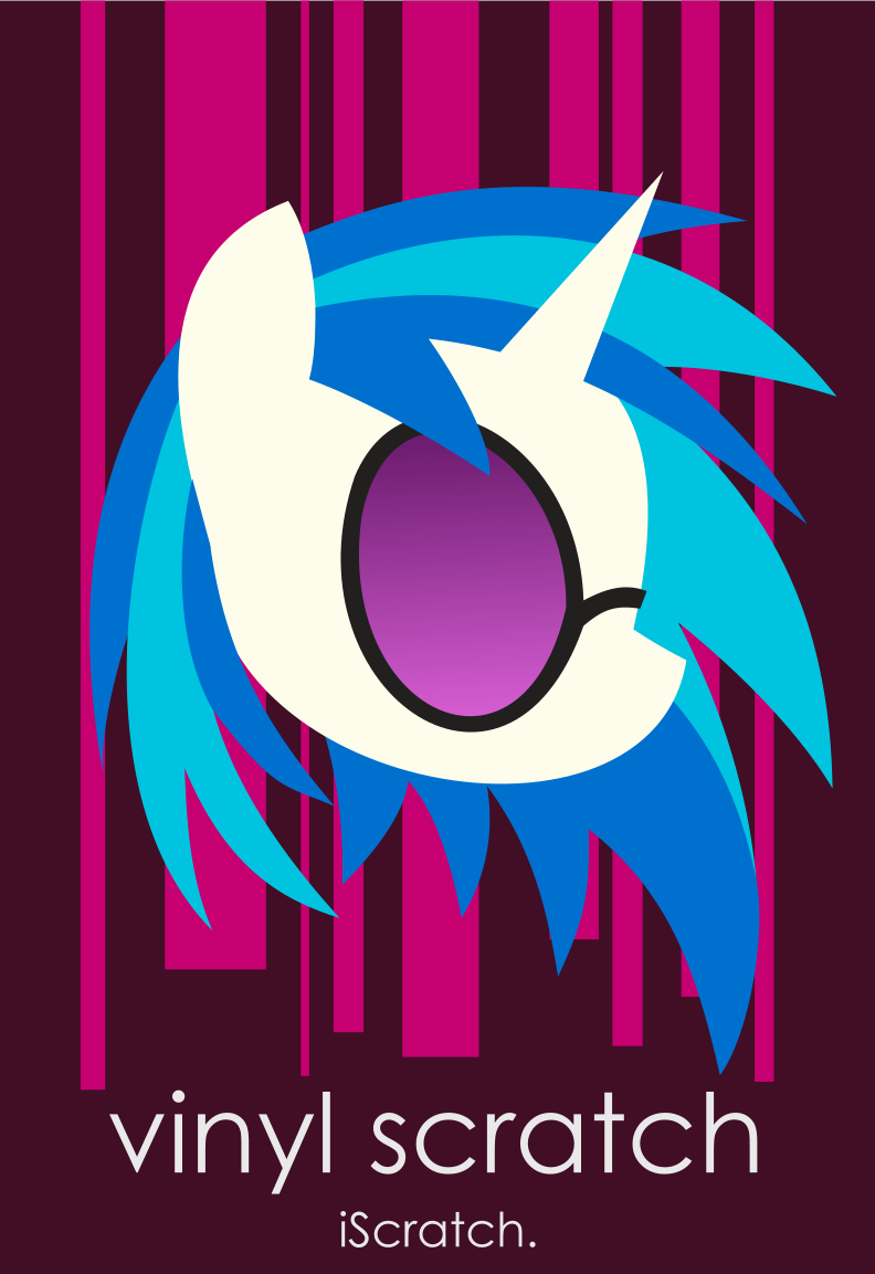 Vinyl Scratch iPhone Wallpaper by anonymousnekodos
