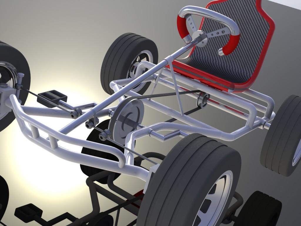 3d pedal kart 3 by davcom on deviantart. Black Bedroom Furniture Sets. Home Design Ideas