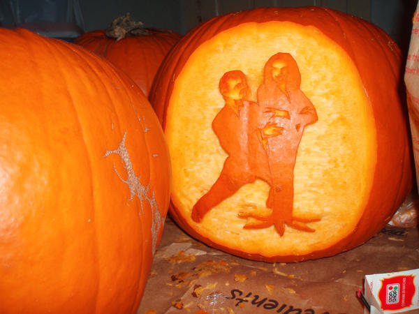 Addams Family Pupkin in light by blackafter