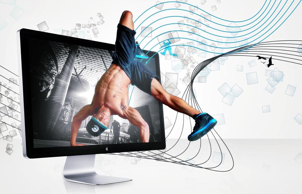 The Dancing Desktop by AbangZam
