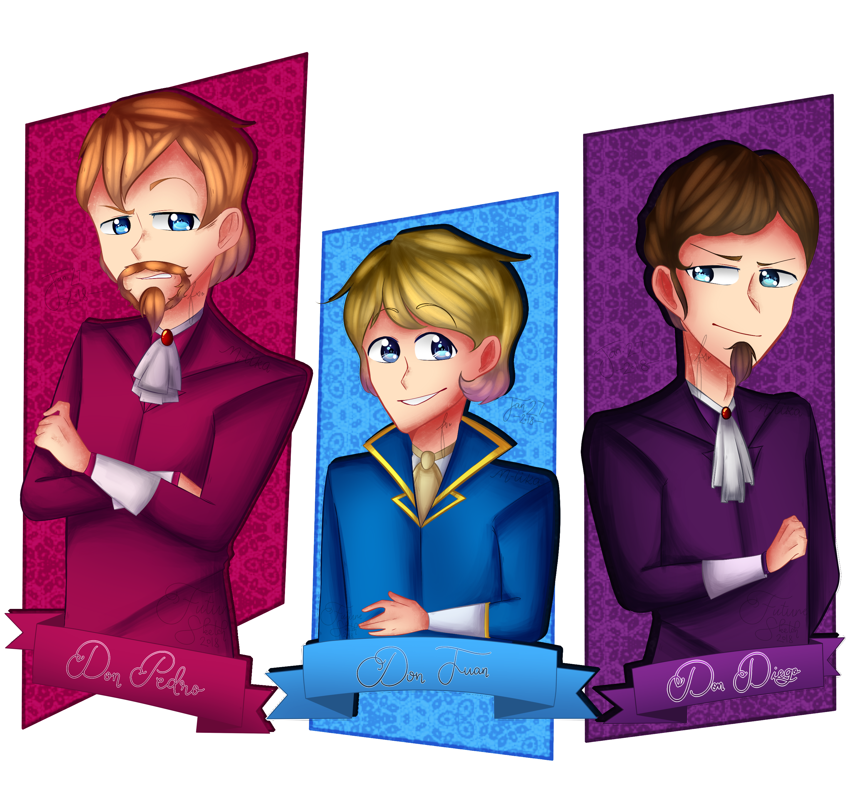 Fanart The Don Brothers By Iifuturesketch On Deviantart