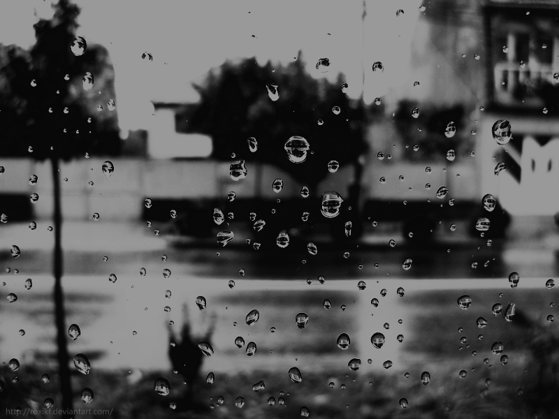 Teardrops on my window by Roxikf