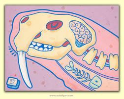 Walrus Dream Series by OctoflyArt