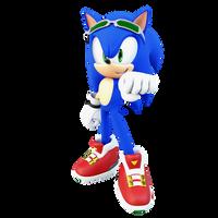 Riders Sonic Render by ThatGiygasDoe