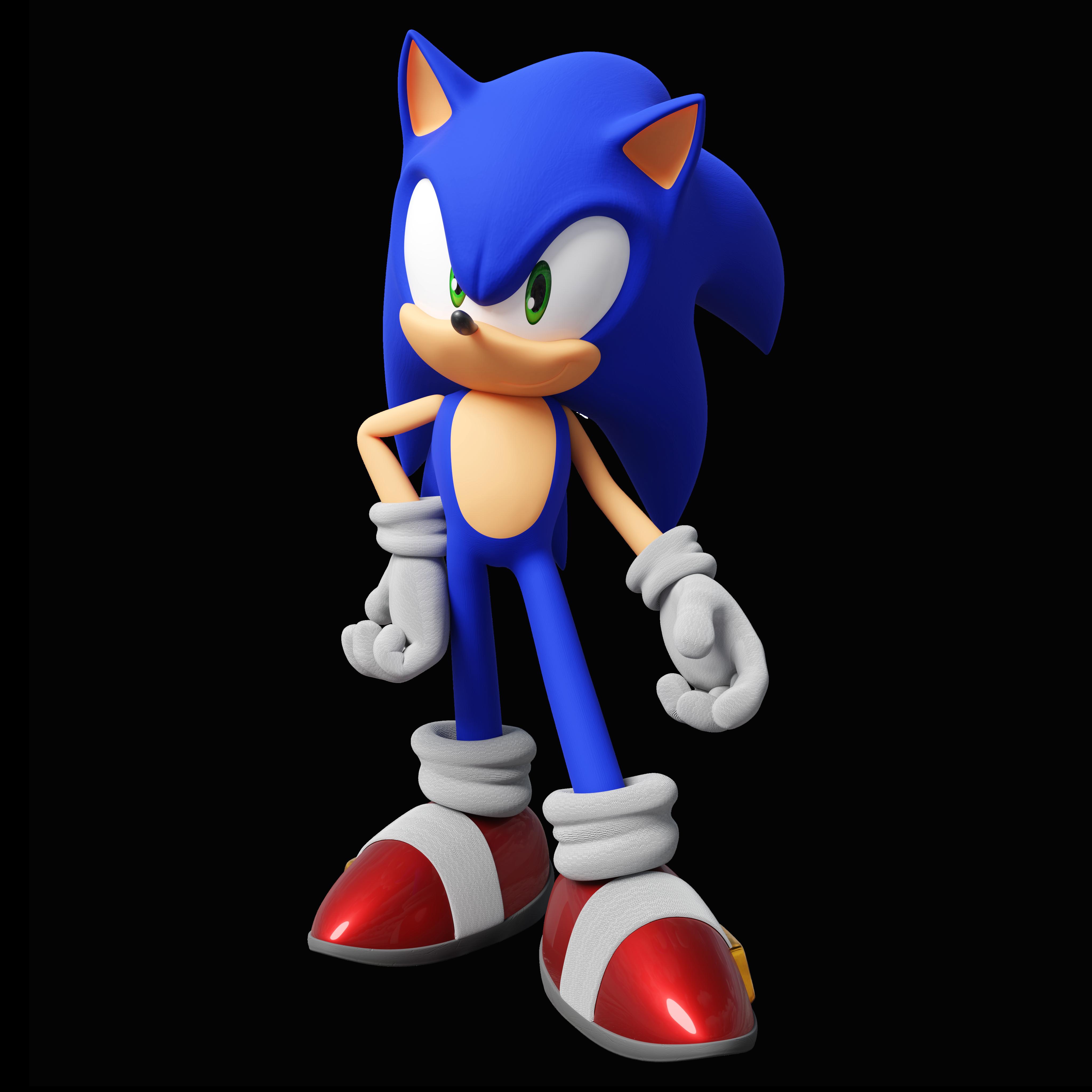 Sonic Unleashed Teaser Pose By Thatgiygasdoe On Deviantart