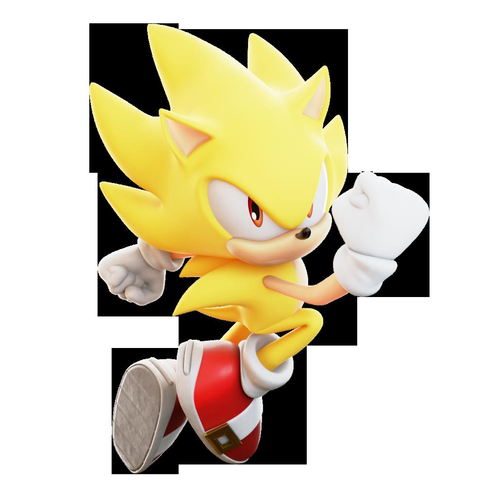 Super Sonic Render By Thatgiygasdoe On Deviantart